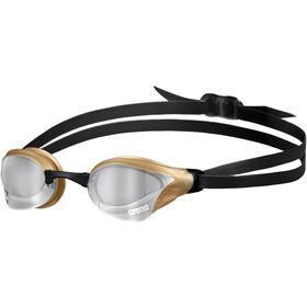 arena Cobra Core Swipe Mirror Occhiali Da Nuoto, nero/marrone
